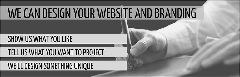 Our website designers can create create your online presence.