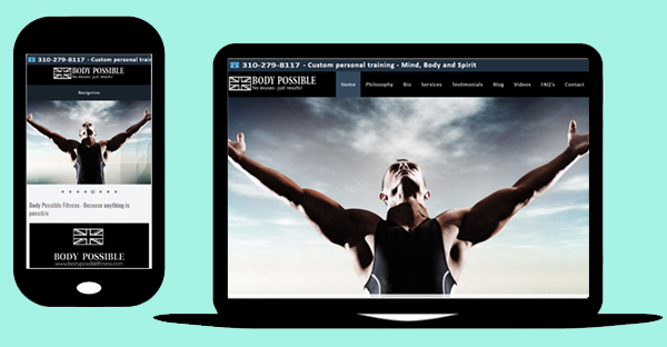 Drupal website - Drupal 7 responsive website design for Body Possible Fitness