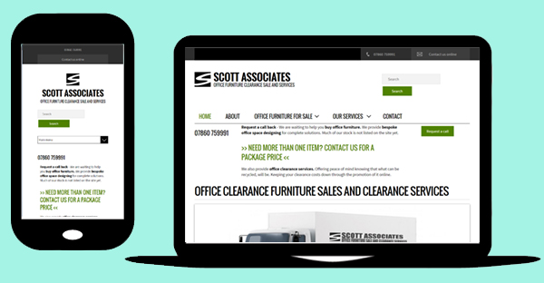 Mobile optimised Drupal 7 website - Scott Associates
