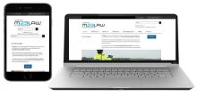A snap shot a mobile responsive site M23 Law