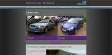 Woodland automotive home screen screenshot