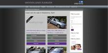 Woodland automotive main menu screenshot
