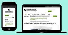 Drupal website - Drupal lead generation; mobile optimised website - Office Furniture