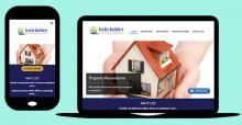Drupal website - Drupal Website - Scotts Builders promoting a General Builder
