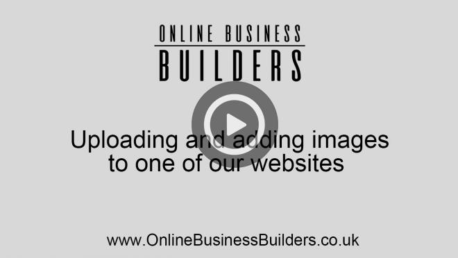 Uploading and adding images/ photos to your site video