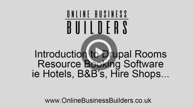 Drupal 7 Rooms module video tour; resource booking website video
