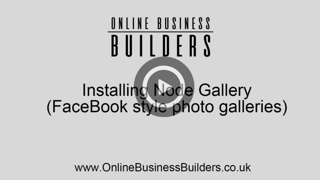 Drupal 7 How to install Node Gallery, Plupload and colorbox - Facebook style albums video
