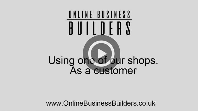 Using one of our ecommerce websites as the customer video