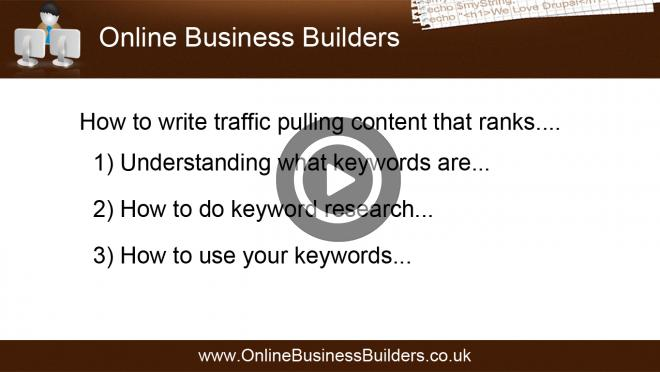 How to write traffic pulling content that ranks using your Drupal website video
