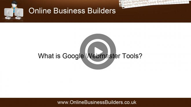 What is Google Webmaster Tools? in plain English video
